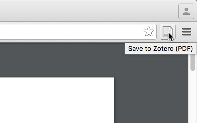Saving a PDF from the new toolbar button