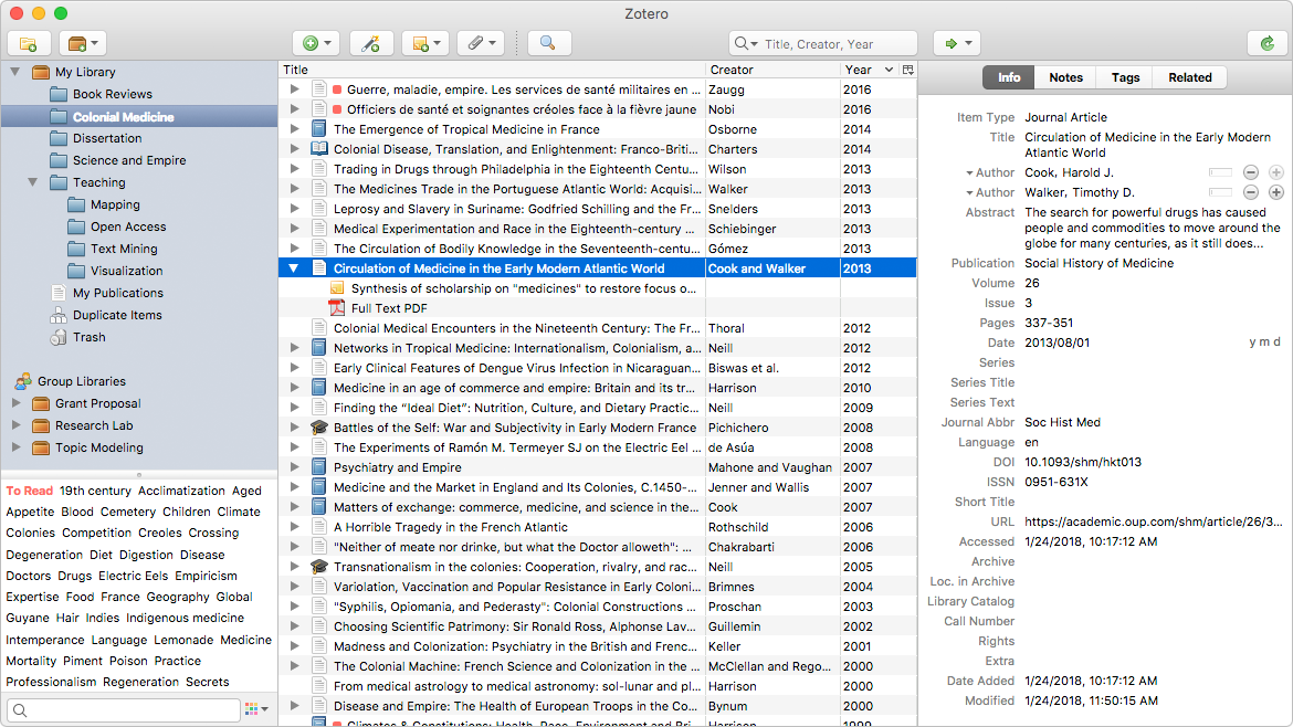 zotero word mac
