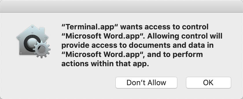 kb:mac word permissions missing [Zotero Documentation]
