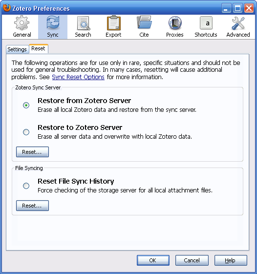 Webdav File Sync