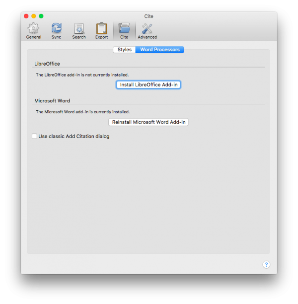 how to add citation style in zotero